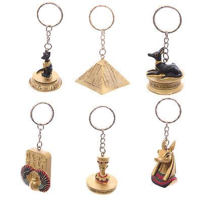 Ägyptischer Schlüsselanhänger 6 versch. Sorten Pyramide Seth Anubis Bastet NEU!
