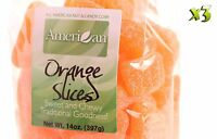 42oz Gourmet Bags Of Orange Slices Chewy Candy [2 5/8 Lbs.]