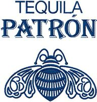 Tequila Patron Embroidered Set Of 2 Bathroom Hand Towels By Laura