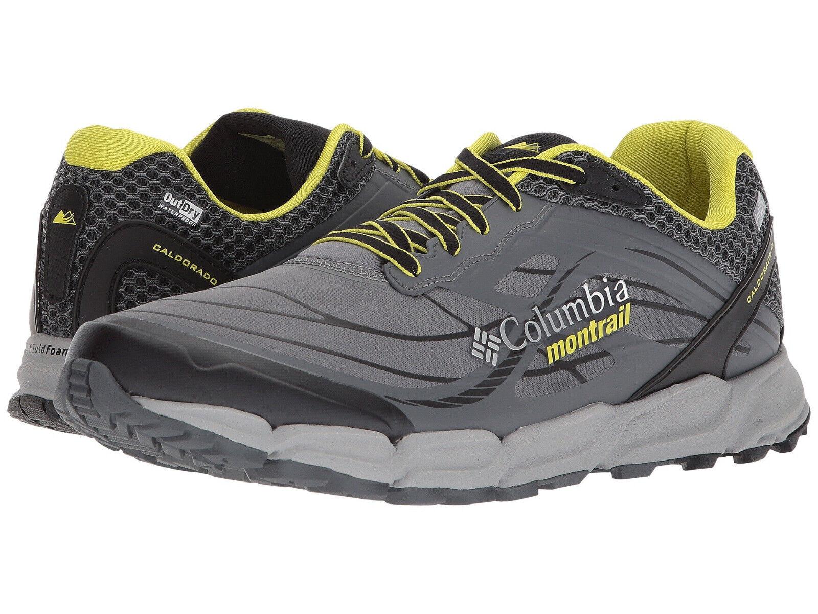 Columbia Men's Caldorado US 14 M Grey Synthetic Running Sneakers Shoes 145.00
