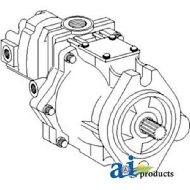 1346425c1 Pump Hydraulic W Gear Pump Reman Fits Case Ih 1896 2090