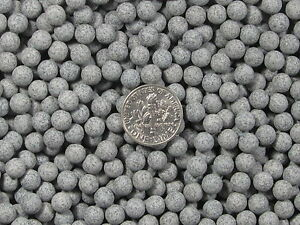 Ceramic-Porcelain-Tumbling-Media-2-Lbs-6-mm-Fast-Cutting-Grey-Abrasive-Sphere