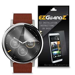 2X-EZguardz-LCD-Screen-Protector-Cover-HD-2X-For-Motorola-Moto-360-2nd-Gen-46mm