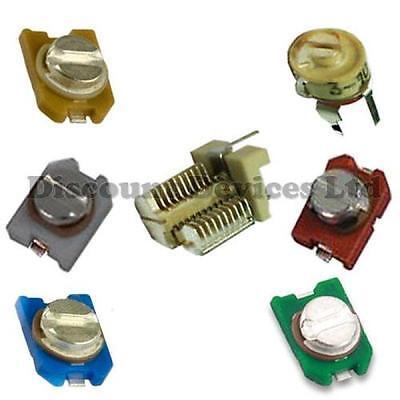 100x 1nF SMD Condensatore in Ceramica 50 V CASE 1206//3216 3.2x1.6mm 10/%