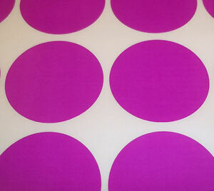 200-Light-Purple-45mm-1-3-4-Inch-Colour-Code-Dots-Round-Stickers-Sticky-Labels