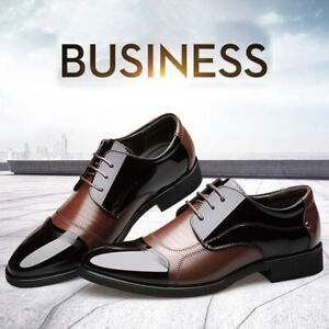 Men-Fashion-Oxford-Leather-Shoes-Pointed-Toe-Loafers-Spring-Formal-Casual
