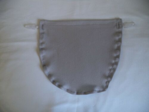 Modesty Panel in Dove Grey WITHOUT LACE