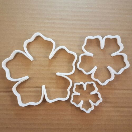 Flower Petal Plant Garden Shape Cookie Cutter Dough Biscuit Pastry Fondant Sharp