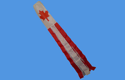 """Canada 60/"""" Windsock Canadian Festival Camping Fete Glamping Beach Event Ottawa"""