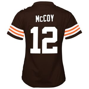 Colt McCoy Cleveland Browns Nike Home Brown Jersey Girls Youth (S ...