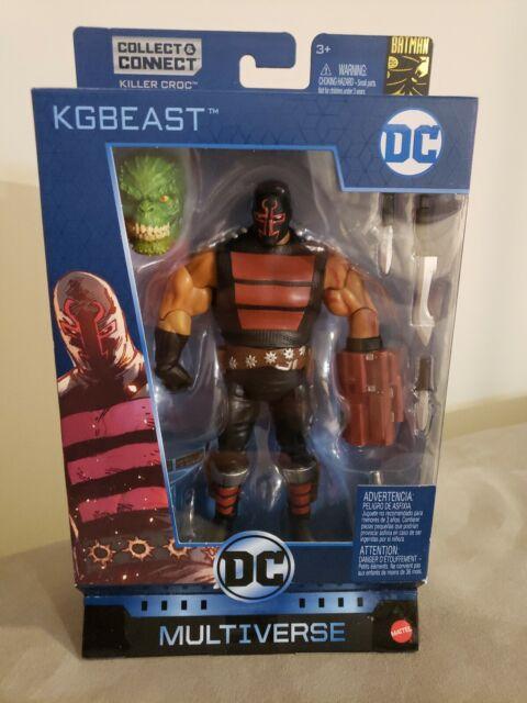 """DC Multiverse KGBEAST BEAST 6/"""" Killer Croc BAF Figure Batman 80th IN STOCK"""