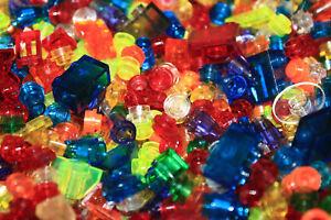 Lego teile transparente steine platten rund eckig fliesen