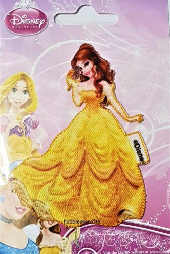 Disney Princesa Oficial de hierro en apliques Motif con bordes Cosido-Belle