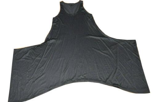 Jersey Black A kleid Strati Look 50 linie xl überwurf zwischenlösung 44 46 A 48 AZf84a