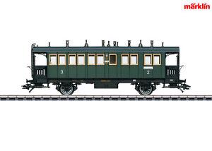 Marklin-h0-42071-ferrocarriles-localmente-carro-BCL-2-3-Clase-K-Bay-STS-B-nuevo-en-OVP