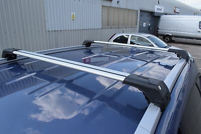 KIA SORENTO 2010-2015 LOCKABLE ALUMINIUM CROSS BAR RACK 75 KG LOADING CAPACITY