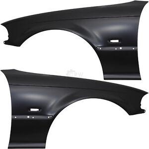Guardabarros-set-DERECHA-amp-IZQUIERDA-para-bmw-e46-ano-de-fabricacion-99-03-coupe-convertible-con