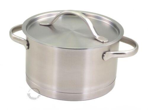 Couvercle Inox Inoxydable Casserole Pot Induction Casserole professionnel Pearl
