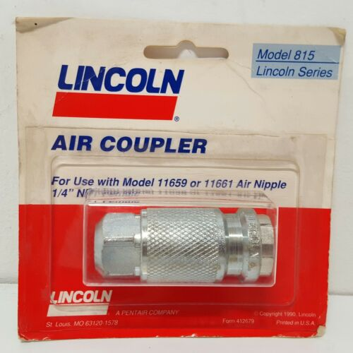 New Lincoln Air Coupler 815