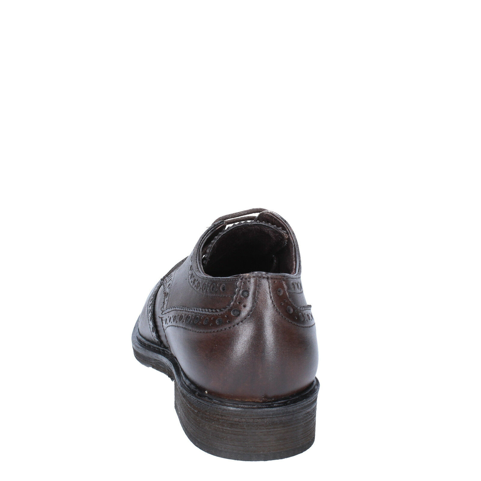 Uomo shoes shoes Uomo CESARE MAURIZI 5 (EU 39) elegant brown leather BX505-39 fe4e8a