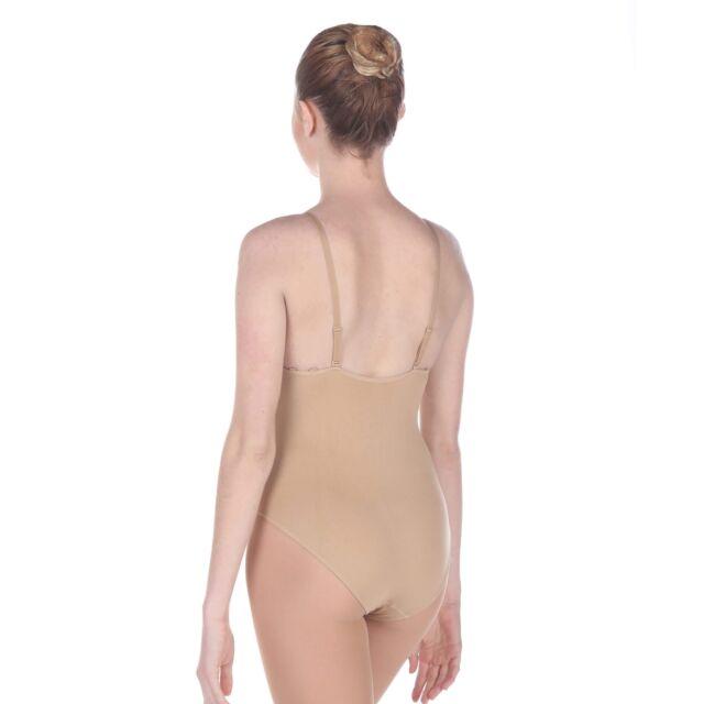 Danzcue Women/'s Seamless Bra With Adjustable Straps