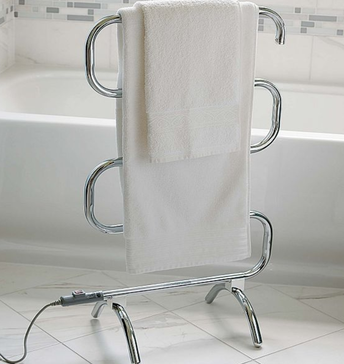 Improvements Classic Towel Warmer, Chrome