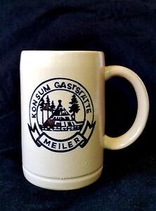 Bierkrug-Konsum-Gaststaette-Meiler-Sosa-Sachsen-Ostalgie-DDR-SED-NVA-Beer-Mug