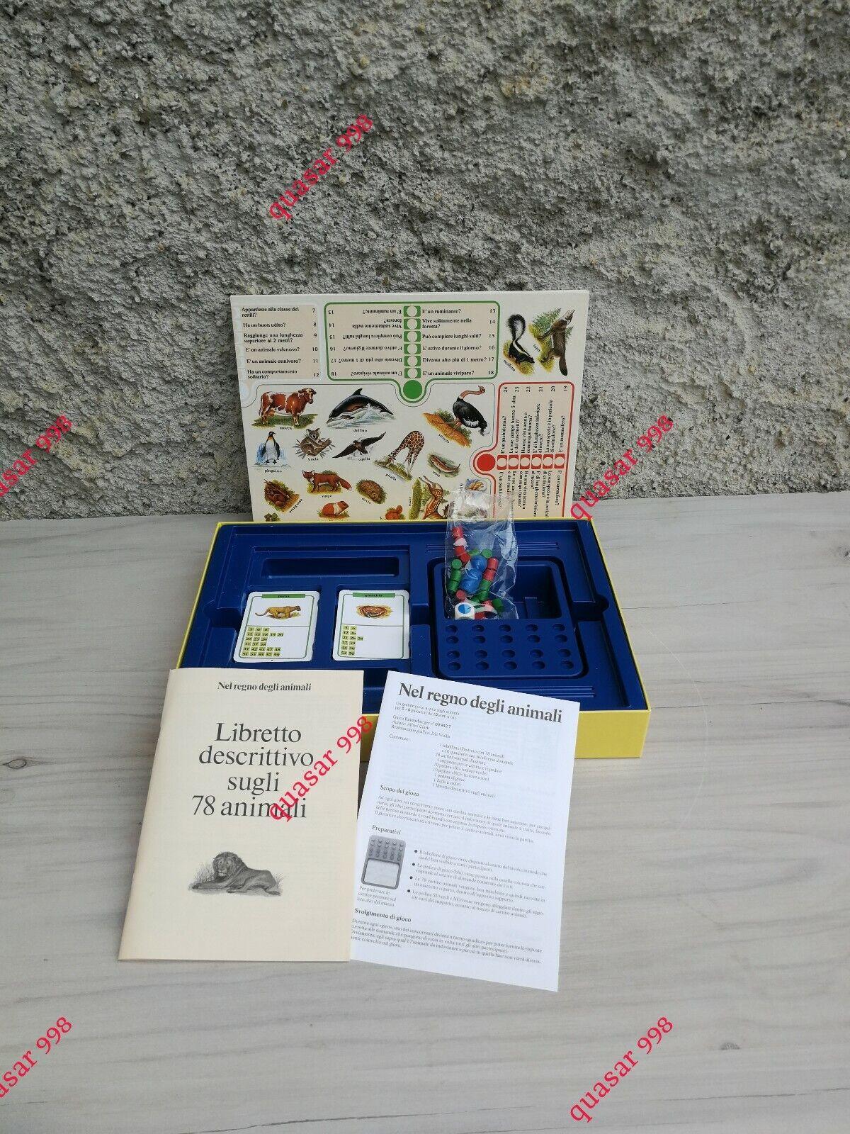 Viaggio nel mondo degli animali - NEL REGNO DEGLI ANIMALI – Ravensburger 1991