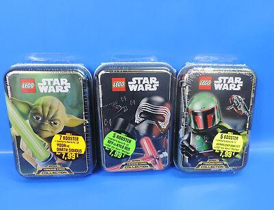 Lego® Star Wars Tin Box  Kylo Ren  Sammelkarten Booster Box