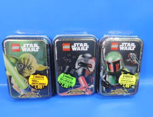 Booster Boba Fett cartes Kylo Ren LEGO ® Star Wars Tin Box Yoda personnage