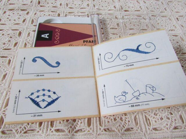 pfaff emb machine card creative fantasy maxidesign a