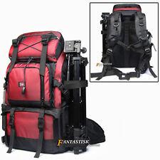 Professional DSLR Waterproof Camera Backpack Bag 17'' Laptop Bag With Extra Bag
