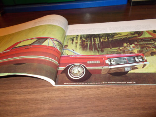 1966 Mercury Deluxe 34-page Sales Catalog Low Price with Free Shipping !