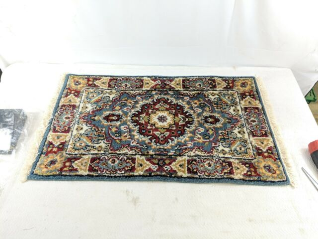 "B4 PERSIAN PRAYER RUG 2'X3'.3"" HAND KNOTTED 100% WOOL PILE RUG PR-2 Floral"