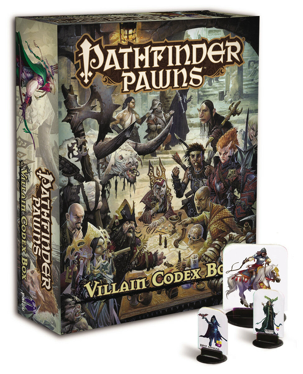 Pathfinder RPG Pawns - Villain Codex Box