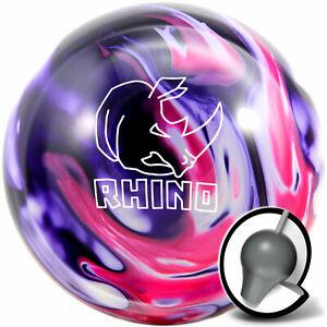 New Brunswick Rhino Bowling Ball Purple//Pink//Wht Choose your weight Free ship!