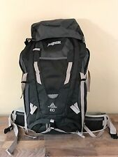 Jansport Katahdin 60L Hiking/Camping Backpack Internal Frame - GreyTar NWT
