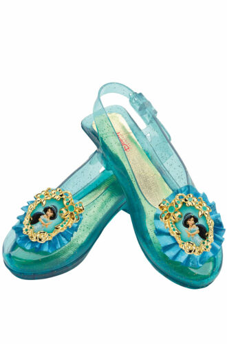 Disney Princess Jasmine Sparkle Child Shoes Costume Accessory