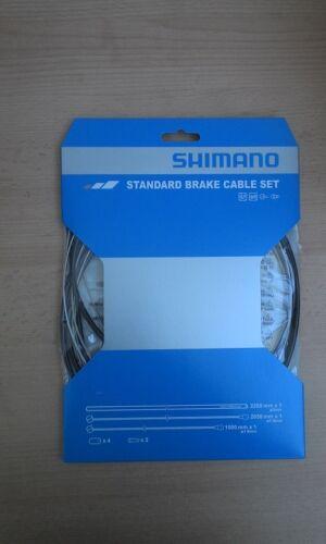 Schaltzüge Shimano Bremszüge Außenhüllen Zug.-Kpl.-SET für 1 Fahrrad