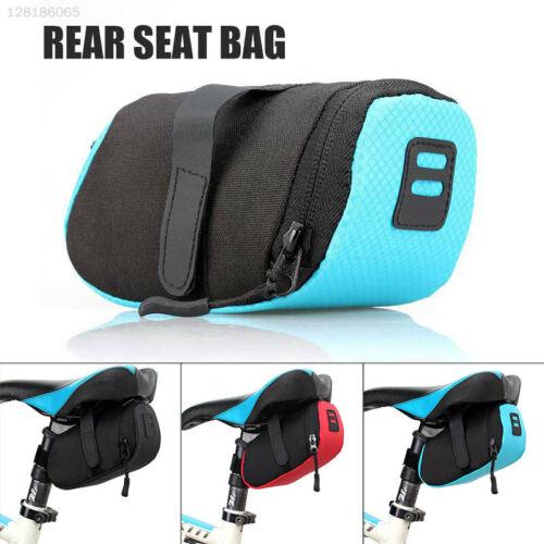 6BA7 Black Bicycle Tail Bag Mountain Bike Cycling Equipment Durable