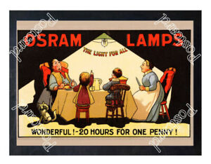 Historic-Osram-lamps-The-Light-for-All-1900s-Advertising-Postcard