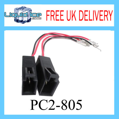 Audi A2 A4 Speaker Adaptor Lead Cable Stereo CD