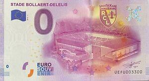BILLET-0-EURO-STADE-BOLLAERT-DELELIS-LENS-FRANCE-2016-NUMERO-3300