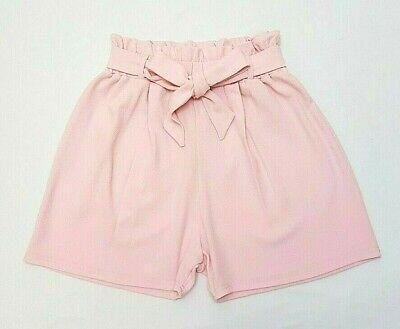 ** Nuovo Look 2019 Baby Pink Paperbag Plus Size Curva Vita Alta Pantaloncini Sacchetto Di Carta **-mostra Il Titolo Originale Sangue Nutriente E Regolazione Dello Spirito