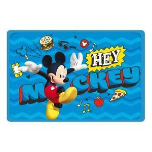 Children Rug Mickey Mouse 60 x 40 cm Carpet Disney bleu ...