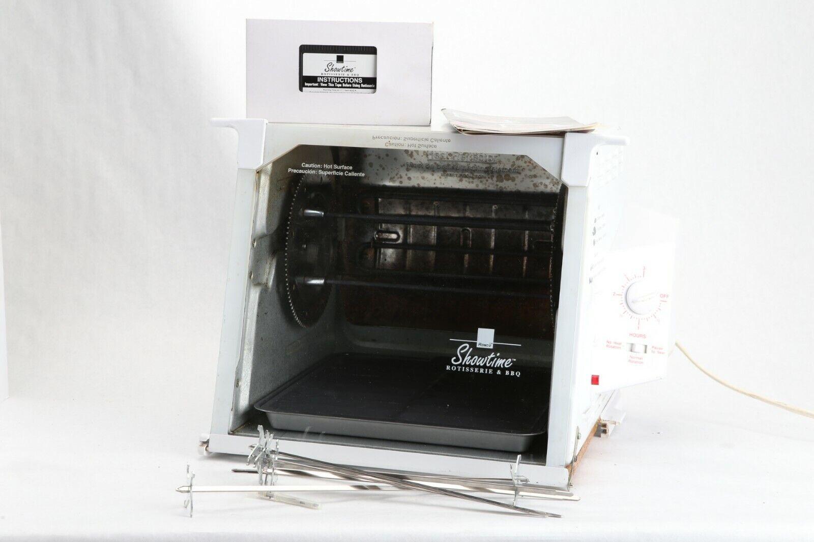 Ronco Showtime rougeisserie & Barbecue Cuisinière  Blanc  modèle 4000 Works Lu