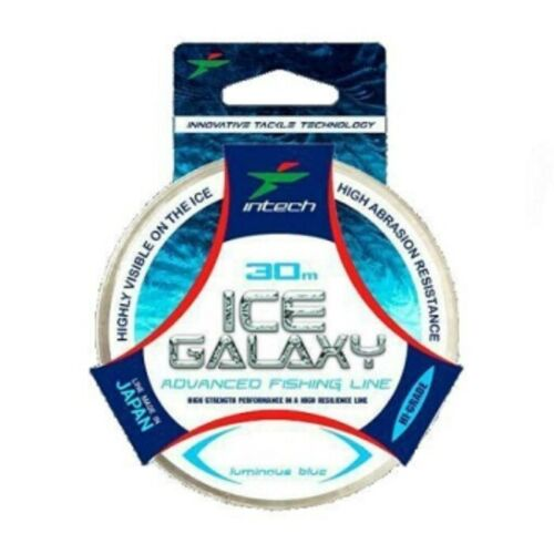 Intech Ice Galaxy 30m blue winter fishing line