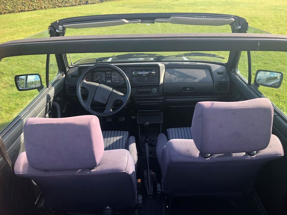 VW Golf I, 1,8 Cabriolet, Benzin