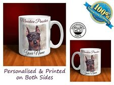 Miniature Pinscher Personalised Ceramic Mug: Perfect Gift. (D043)