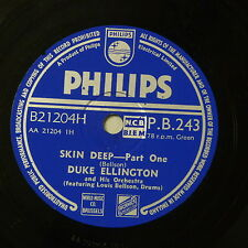 78rpm DUKE ELLINGTON skin deep , 1&2